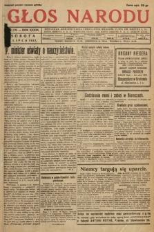 Głos Narodu. 1932, nr176