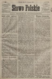 Słowo Polskie. 1898, nr284