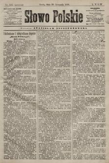 Słowo Polskie. 1898, nr286 (poranny)