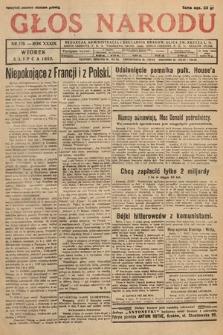 Głos Narodu. 1932, nr179