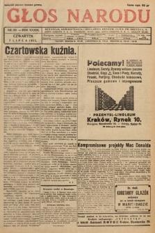 Głos Narodu. 1932, nr181