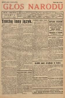 Głos Narodu. 1932, nr183
