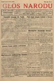Głos Narodu. 1932, nr185