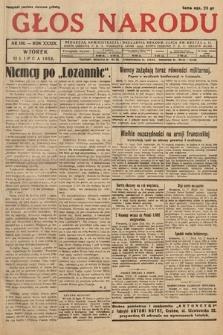 Głos Narodu. 1932, nr186