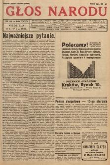 Głos Narodu. 1932, nr191