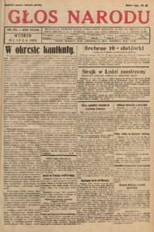 Głos Narodu. 1932, nr193