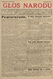 Głos Narodu. 1932, nr196