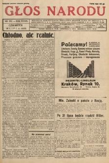 Głos Narodu. 1932, nr202