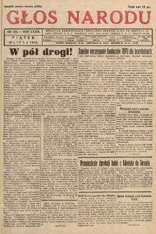 Głos Narodu. 1932, nr203