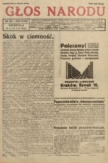 Głos Narodu. 1932, nr205