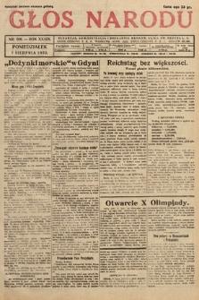Głos Narodu. 1932, nr206