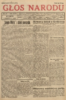 Głos Narodu. 1932, nr207