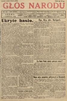 Głos Narodu. 1932, nr208