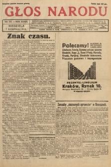 Głos Narodu. 1932, nr212