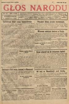 Głos Narodu. 1932, nr213