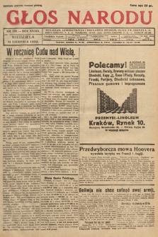 Głos Narodu. 1932, nr219
