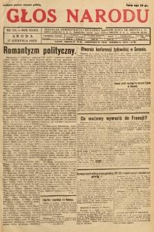 Głos Narodu. 1932, nr221