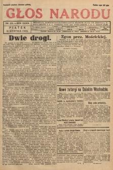 Głos Narodu. 1932, nr223