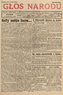 Głos Narodu. 1932, nr227
