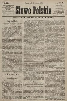 Słowo Polskie. 1898, nr287