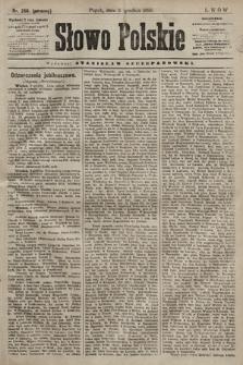 Słowo Polskie. 1898, nr288 (poranny)