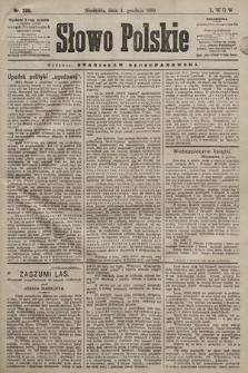 Słowo Polskie. 1898, nr289