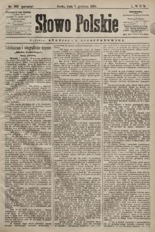 Słowo Polskie. 1898, nr292 (poranny)