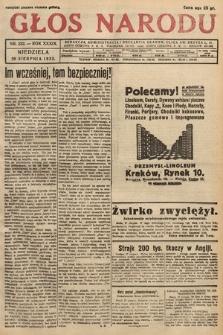 Głos Narodu. 1932, nr232