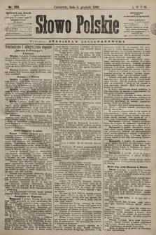 Słowo Polskie. 1898, nr293
