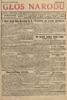 Głos Narodu. 1932, nr233