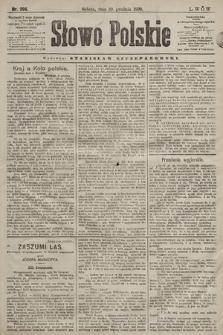 Słowo Polskie. 1898, nr294