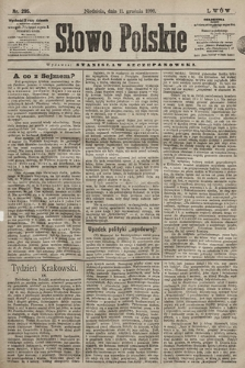 Słowo Polskie. 1898, nr295