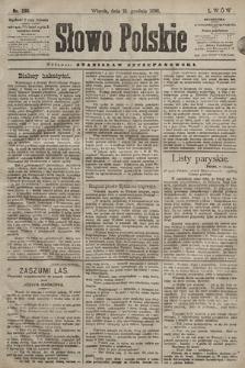 Słowo Polskie. 1898, nr296
