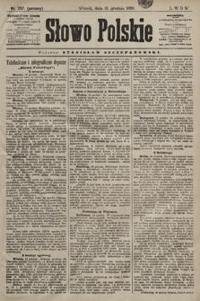 Słowo Polskie. 1898, nr297 (poranny)