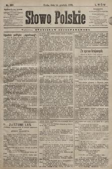 Słowo Polskie. 1898, nr297