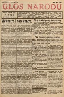 Głos Narodu. 1932, nr237