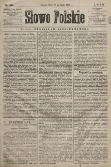Słowo Polskie. 1898, nr299