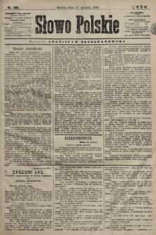 Słowo Polskie. 1898, nr300