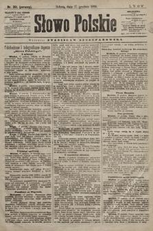 Słowo Polskie. 1898, nr301 (poranny)