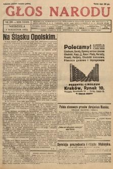 Głos Narodu. 1932, nr239