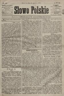 Słowo Polskie. 1898, nr301