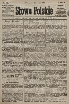 Słowo Polskie. 1898, nr302