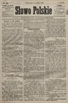 Słowo Polskie. 1898, nr303