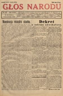 Głos Narodu. 1932, nr242