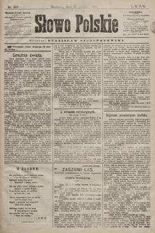 Słowo Polskie. 1898, nr307