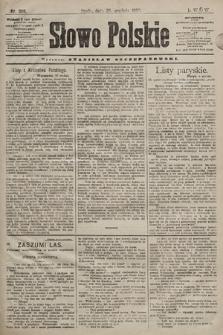 Słowo Polskie. 1898, nr308