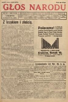 Głos Narodu. 1932, nr243