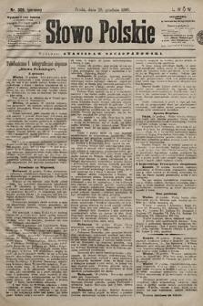 Słowo Polskie. 1898, nr309 (poranny)