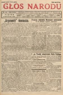 Głos Narodu. 1932, nr244
