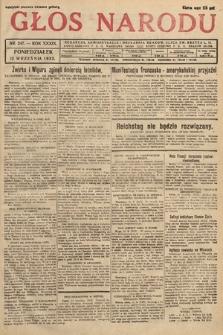 Głos Narodu. 1932, nr247